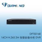 DFT5016E BENELINK 16CH H.265 2M 智慧影像分析 DVR