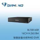 BLT5816SR BENELINK 16CH H.265 8M 智慧影像分析RAID DVR