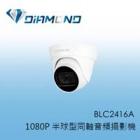 BLC2416A BENELINK 1080P 半球型同軸音頻攝影機