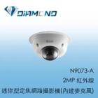 N9073-A 3S 2MP 紅外線迷你型定焦網路攝影機(內建麥克風)