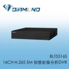 BLT5516S BENELINK 16CH H.265 5M 智慧影像分析DVR