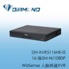 DH-XVR5116HE-I2 大華 16路5M-N/1080P WizSense 人臉辨識XVR