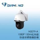 N5079-A 3S 1080P 150m紅外線 快速球網路攝影機