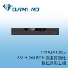 HRHQA108G Honeywell 5M H.265 8CH 高畫質類比 數位錄影主機