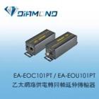 EA-EOC101PT / EA-EOU101PT  乙太網路供電轉同軸延伸傳輸器
