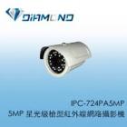 IPC-724PA5MP 5MP 星光級槍型紅外線網路攝影機