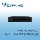 KMH-1625MU-PL01 可取16CH H.265 8MP 同軸音頻主機