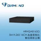 HRHQA8165G Honeywell 5M H.265 16路16聲高畫質類比數位錄影主機