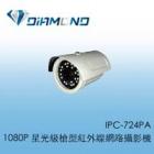 IPC-724PA 1080P 星光級槍型紅外線網路攝影機