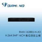 RMH-1628EU-N A3 可取H.264 5MP 16CH 數位錄影主機