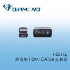HE01SE 經濟型 HDMI CAT5e 延長器