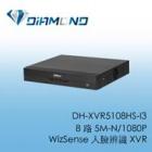 DH-XVR5108HS-I3 大華 8 路 5M-N/1080P  WizSense 人臉辨識 XVR