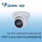 DH-IPC-HDW2231TMN-AS-S2 大華Dahua 1080P 星光紅外線半球型網路攝影機